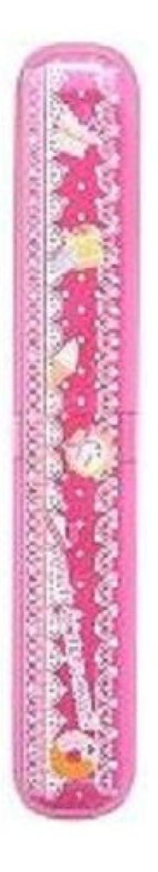 相互接続位置づけるクリープ磨きやすい歯ブラシ デザインケース?歯磨きチューブ付き LT-16