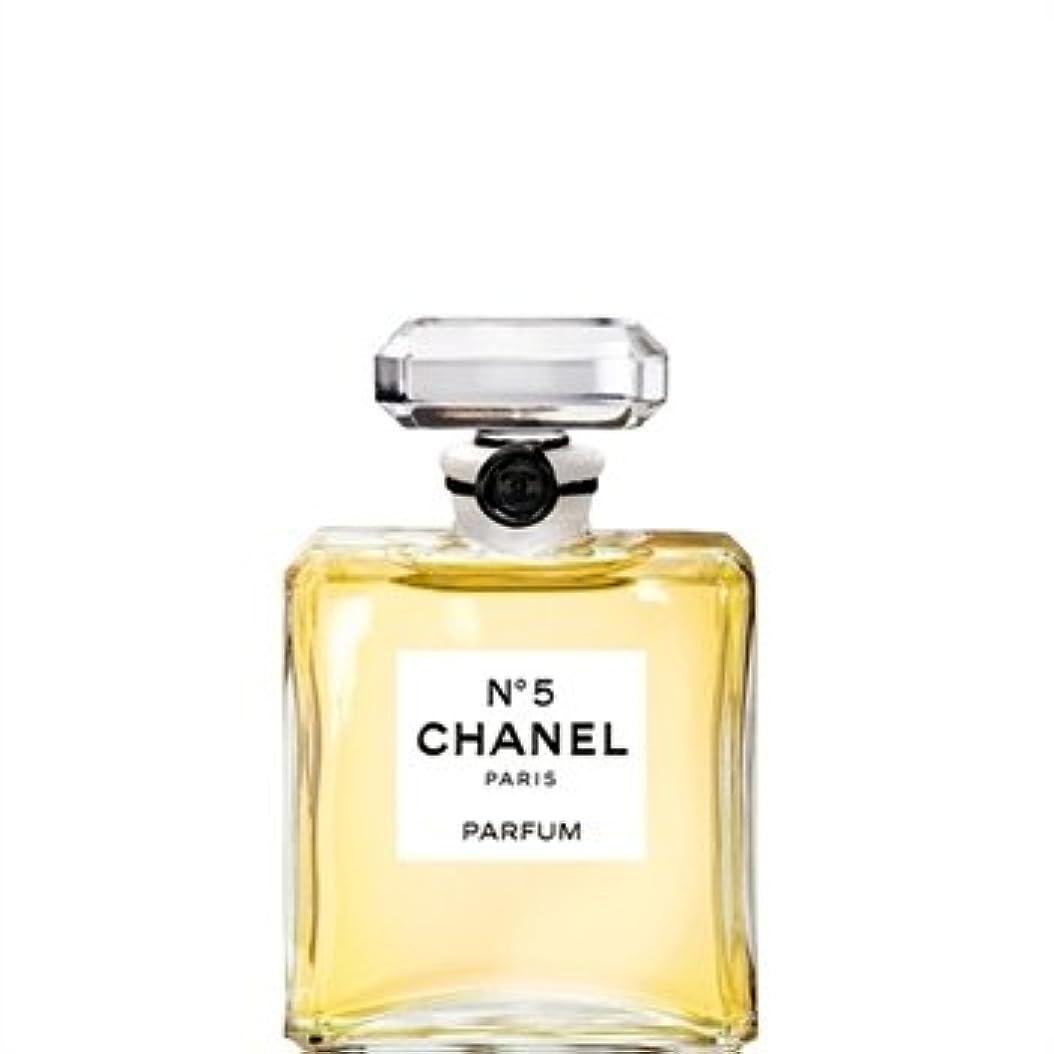 集中比較的酔ったCHANEL(シャネル) No.5 香水 7.5ml ボトル