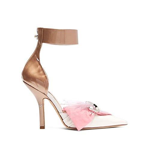 [ミッドナイト 00] レディース シューズ・靴 パンプス Corset cotton, satin & PVC pumps [並行輸入品]