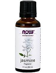 ジャスミン精油香料ブレンド[30ml] 【正規輸入品】 NOWエッセンシャルオイル(アロマオイル)