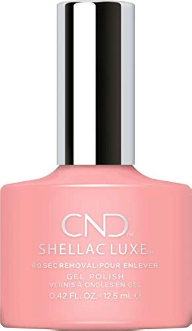 舌なパキスタン無駄なCND Shellac Luxe - Pink Pusuit - 12.5 ml / 0.42 oz