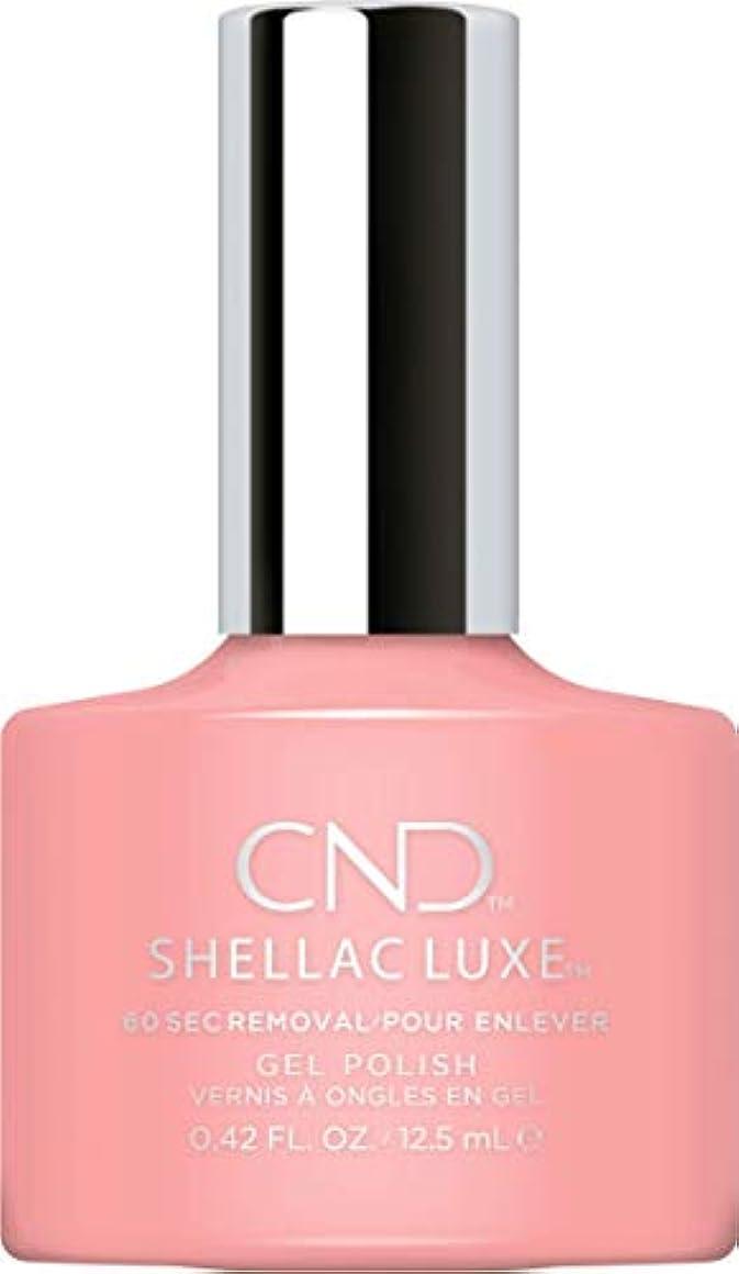 蘇生するグラディス可動式CND Shellac Luxe - Pink Pusuit - 12.5 ml / 0.42 oz