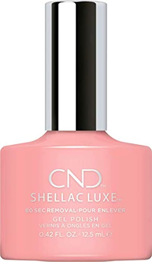 クラブ優越精緻化CND Shellac Luxe - Pink Pusuit - 12.5 ml / 0.42 oz