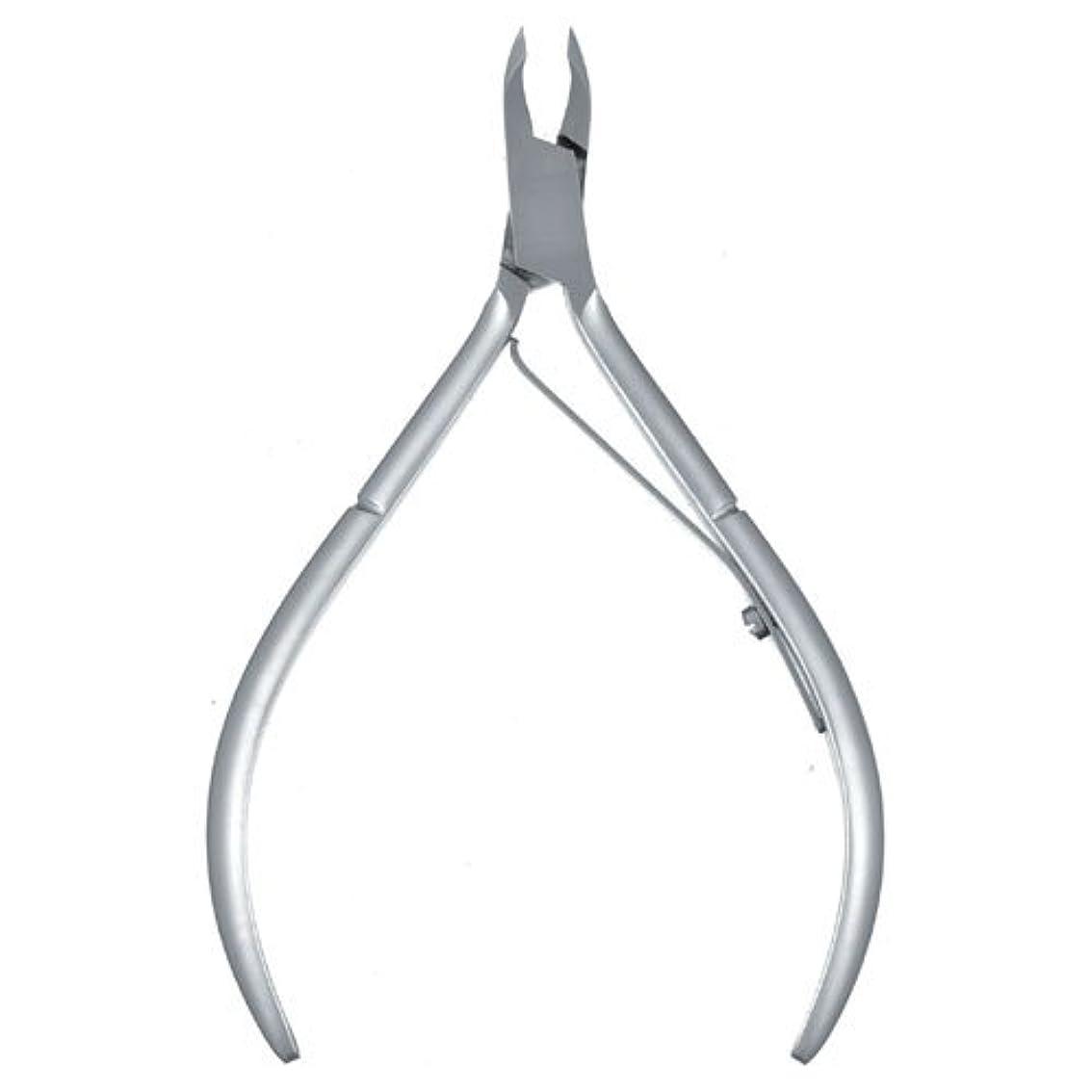 鋸歯状引っ張る酸っぱい内海 キューティクルニッパー C453 シングルスプリング 刃先:3mm± 全長:106mm