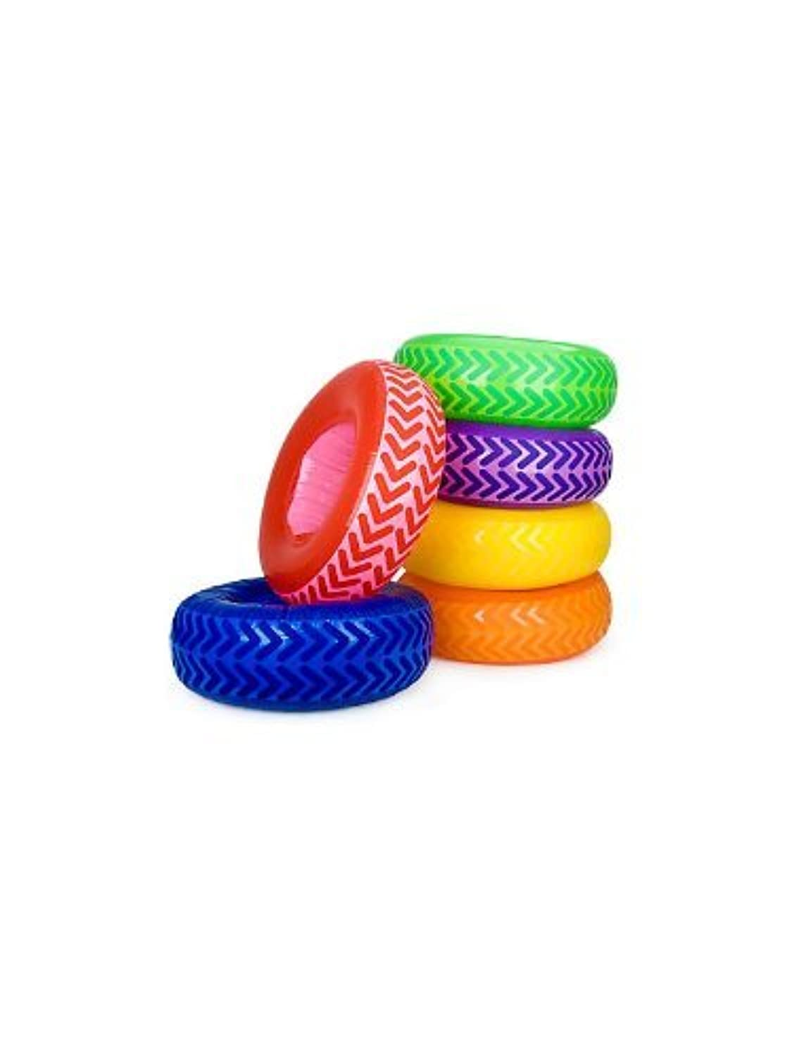 Fun Express BB018375 Inflatable Tire Obstacle Course - 6-Set by Fun Express [並行輸入品]