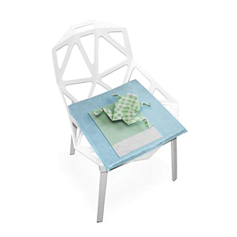 座布団 低反発 かえる 紙 ビロード 椅子用 オフィス 車 洗える 40x40 かわいい おしゃれ ファスナー ふわふわ fohoo 学校