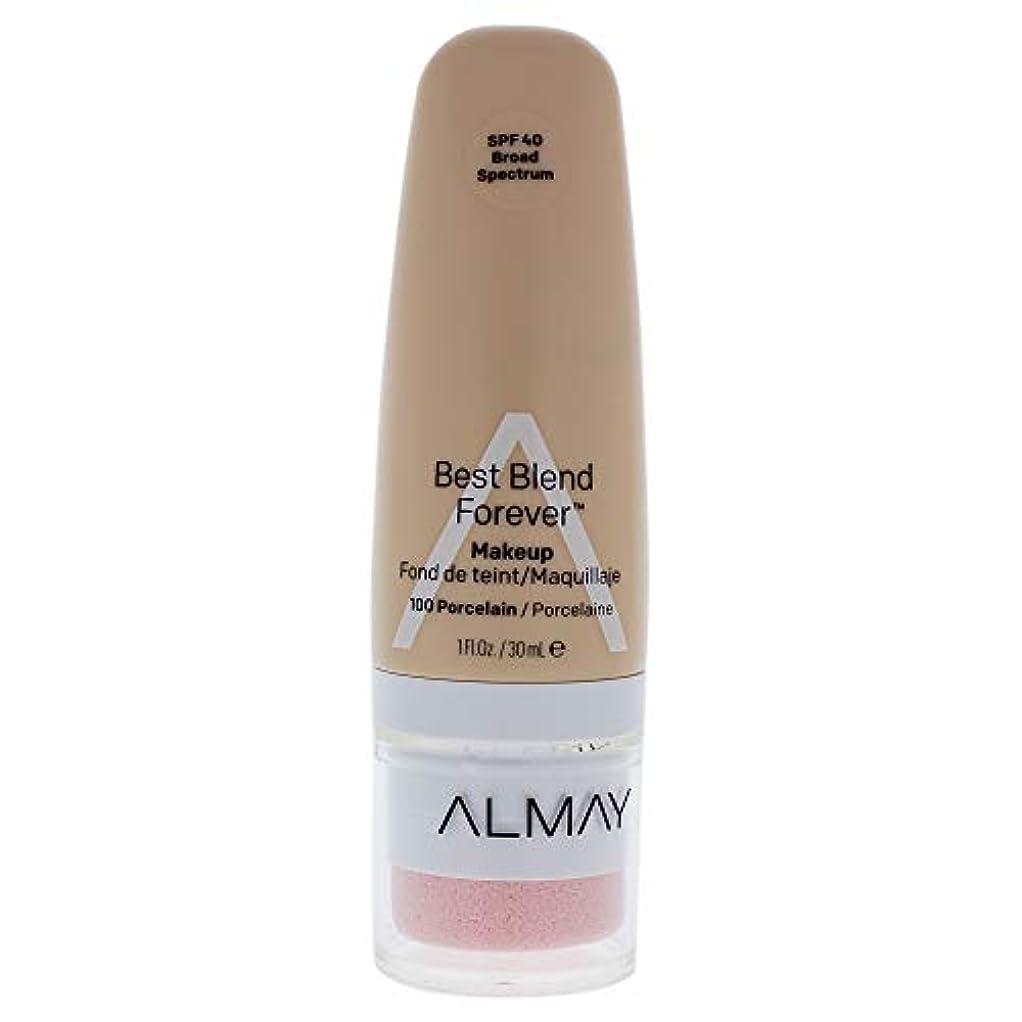 振るう階層原子Best Blend Forever Makeup SPF 40-100 Porcelain