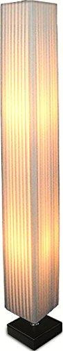 ottostyle.jp スクエアフロアランプ ウッドベース 高さ120cm スタンドライト 間接照明 フロアスタンド インテリア