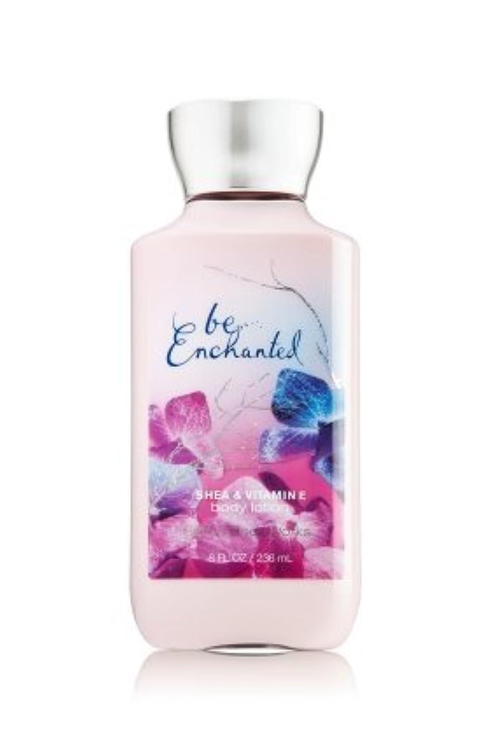 万一に備えて事実上メッセンジャー【Bath&Body Works/バス&ボディワークス】 ボディローション ビーエンチャンテッド Body Lotion Be Enchanted 8 fl oz / 236 mL [並行輸入品]