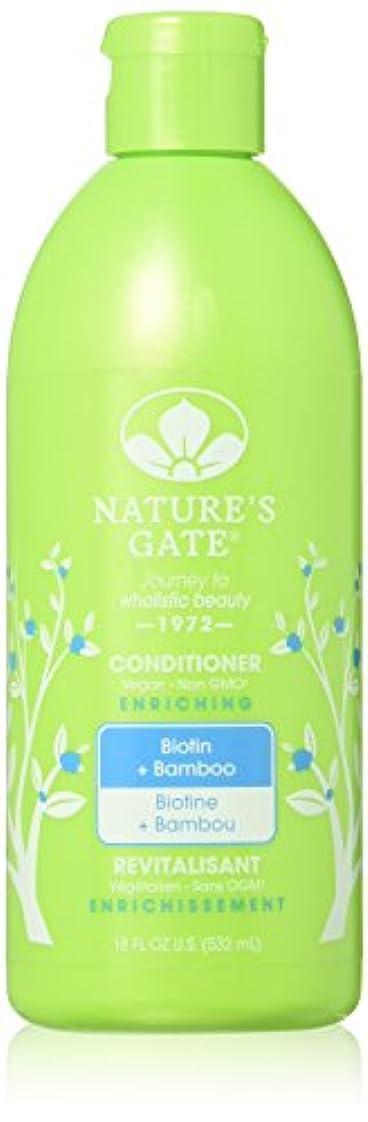 クルーライター野生ネイチャーズゲート NATURE'S GATE ネイチャーズゲート コンディショナー BIO ビオチン&バンブー 532ml