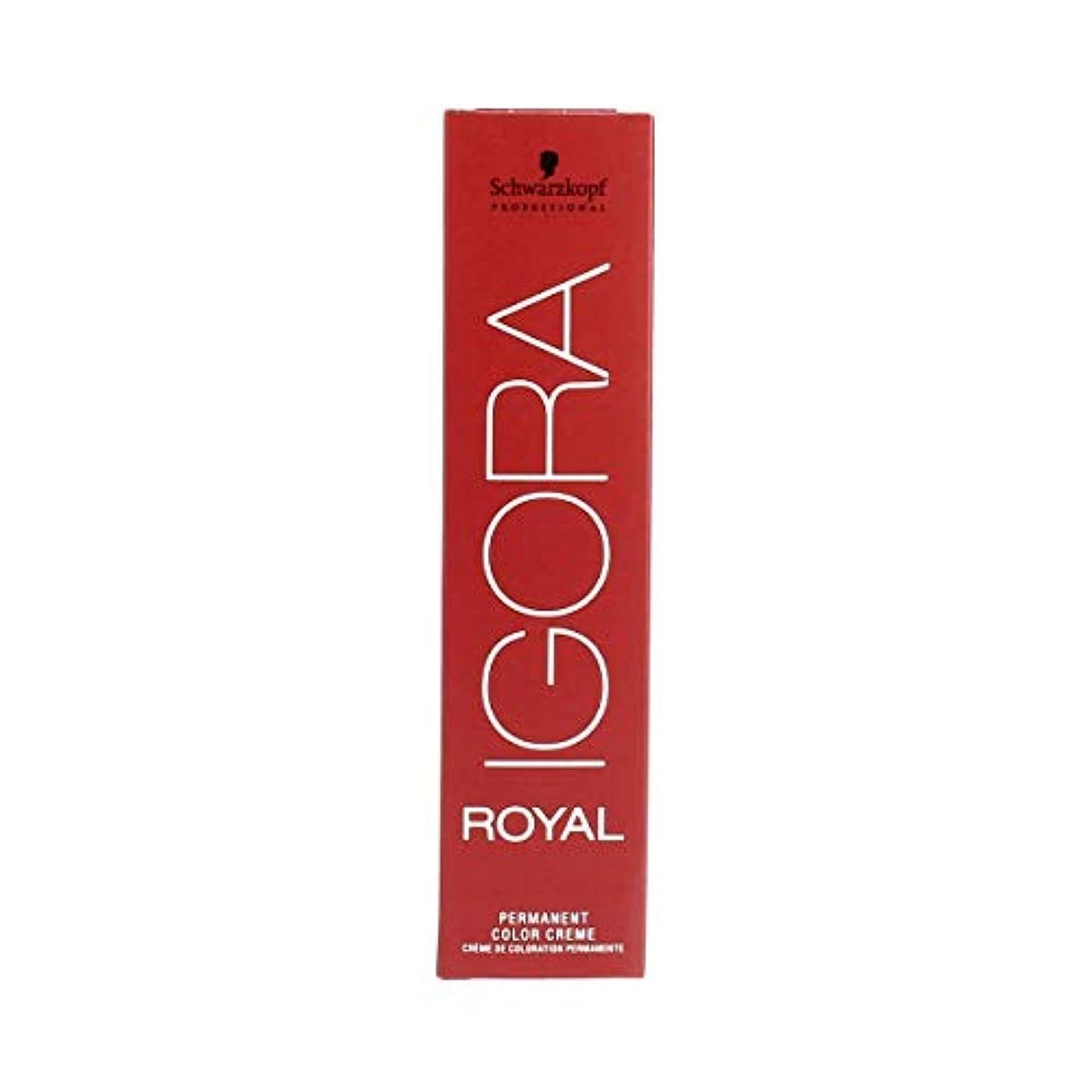 不変消費削減シュワルツコフ IGORA ロイヤル8-4パーマネントカラークリーム60ml[海外直送品] [並行輸入品]