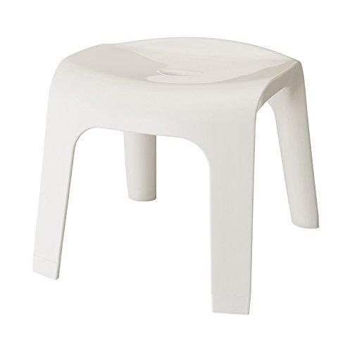 Sylphy 風呂いす 高さ30cm ホワイト (風呂椅子 バスチェア)