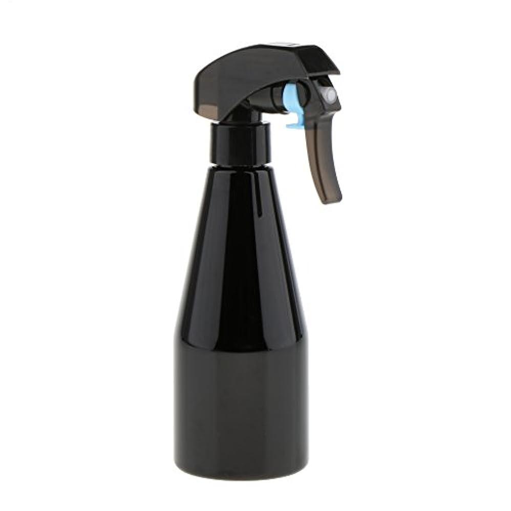 失敗抜け目のないサーバントスプレーボトル ヘアーサロン ヘアートリガー スプレー ボトル ミスト プラスチックスプレー 2色選べ - ブラック
