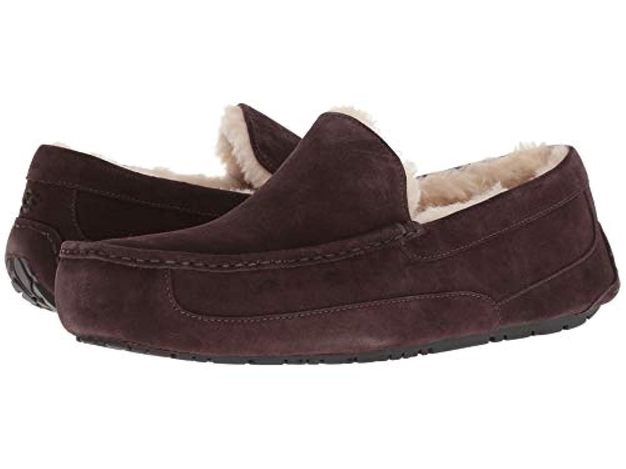寝室を掃除する国籍脆い[UGG(アグ)] メンズローファー?スリッポン?靴 Ascot Espresso 18 (36cm) D - Medium