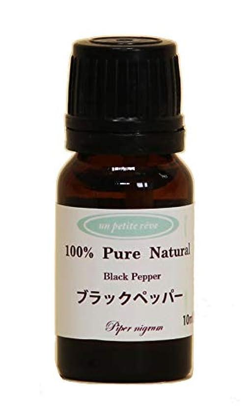 緯度任命する興奮するブラックペッパー  10ml 100%天然アロマエッセンシャルオイル(精油)