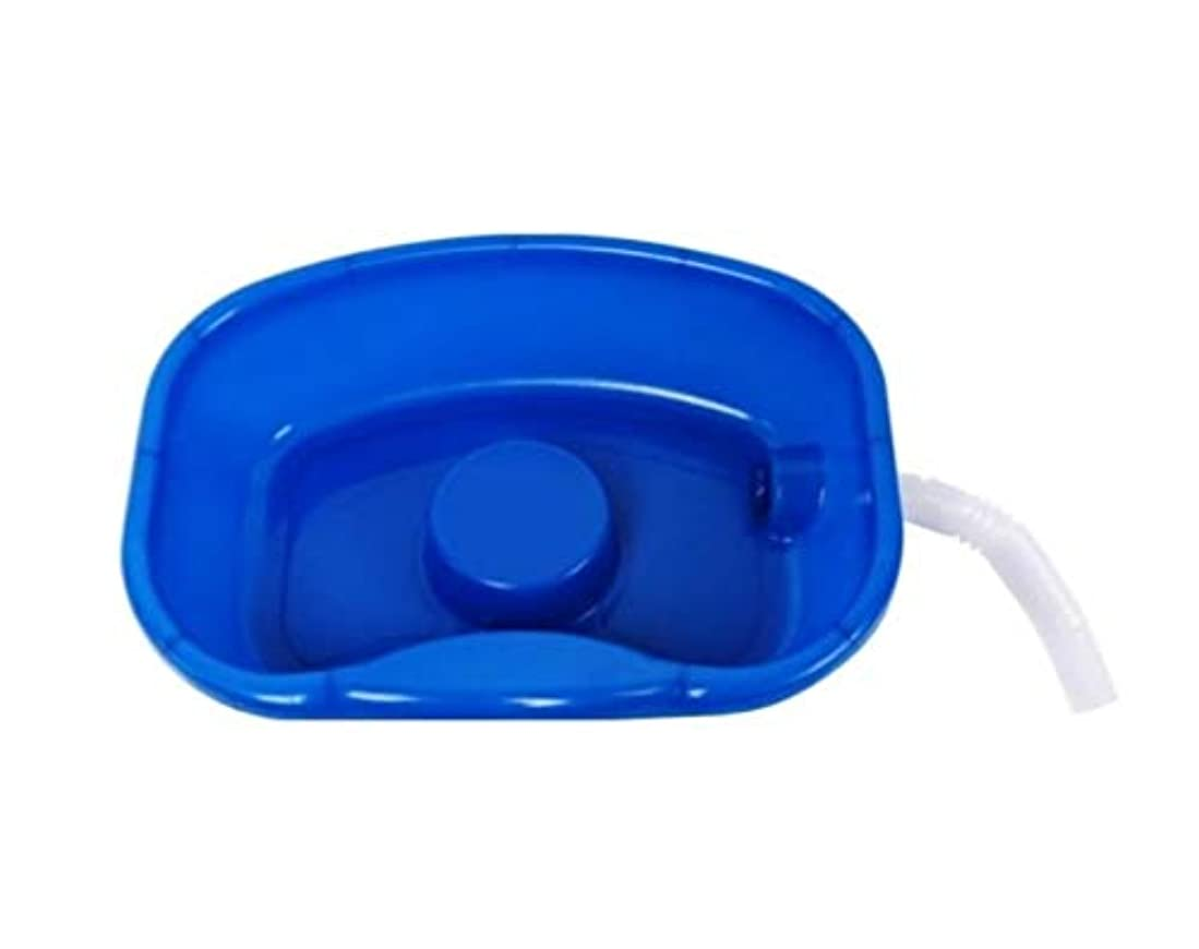 職人面倒ケージベッドシャンプー盆地-障害者、高齢患者の障害者のための安静時の髪洗浄コンディショナートレイ支援ツール