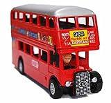 雑貨 ムンバイ2階建てバス(赤色)