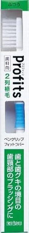 本気株式会社親愛なエビス 歯科向 プロフィッツK20 ふつう 歯ブラシ×240点セット (4901221065501)