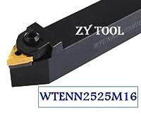 1ピース WTENN2525M1660度 外部回転ツール ファクトリーアウトレット TNMG1604用 泡立て器を挿入