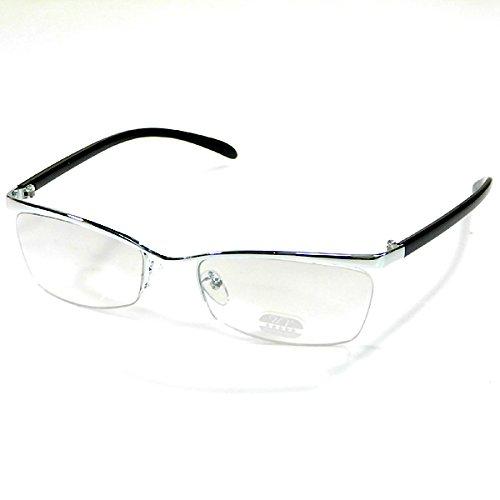 f428c688a4eb7f リームレス型 サングラス メンズ UV ちょいワル系 眼鏡 メガネ 男性用 ...