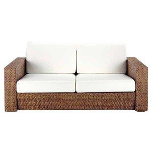 アジアン家具 3人以上用ソファ 籐(ラタン)ソファー