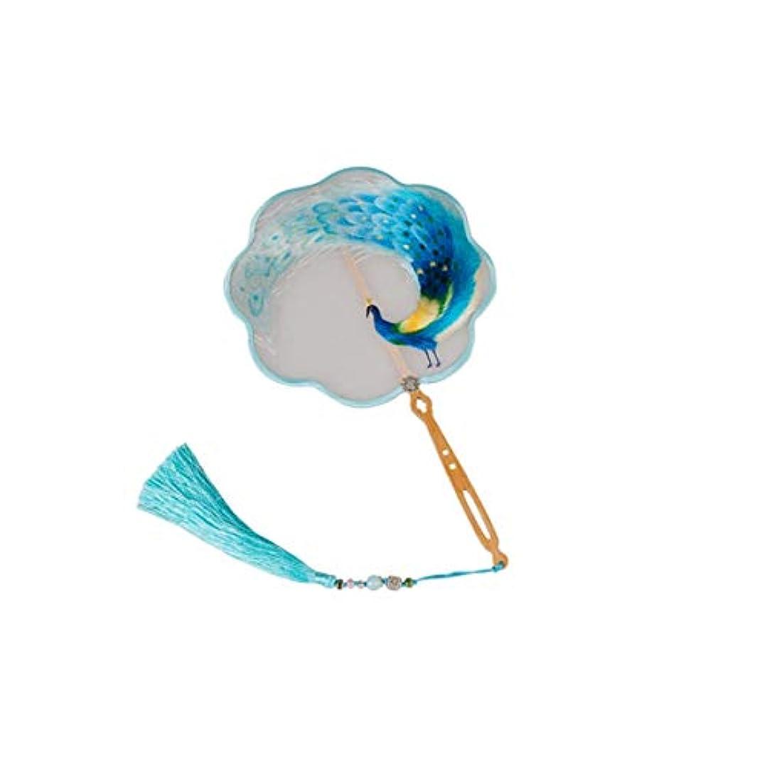 このこのキモいKATH 手作り刺繍、中国のシルク刺繍のファン、中国の工芸ギフト、