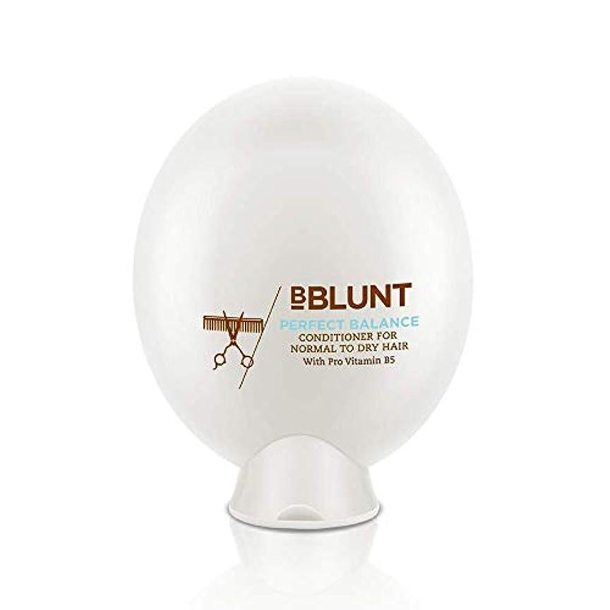 と組む浸透する配偶者BBLUNT Perfect Balance Conditioner for Normal To Dry Hair, 200g (Provitamin B5)