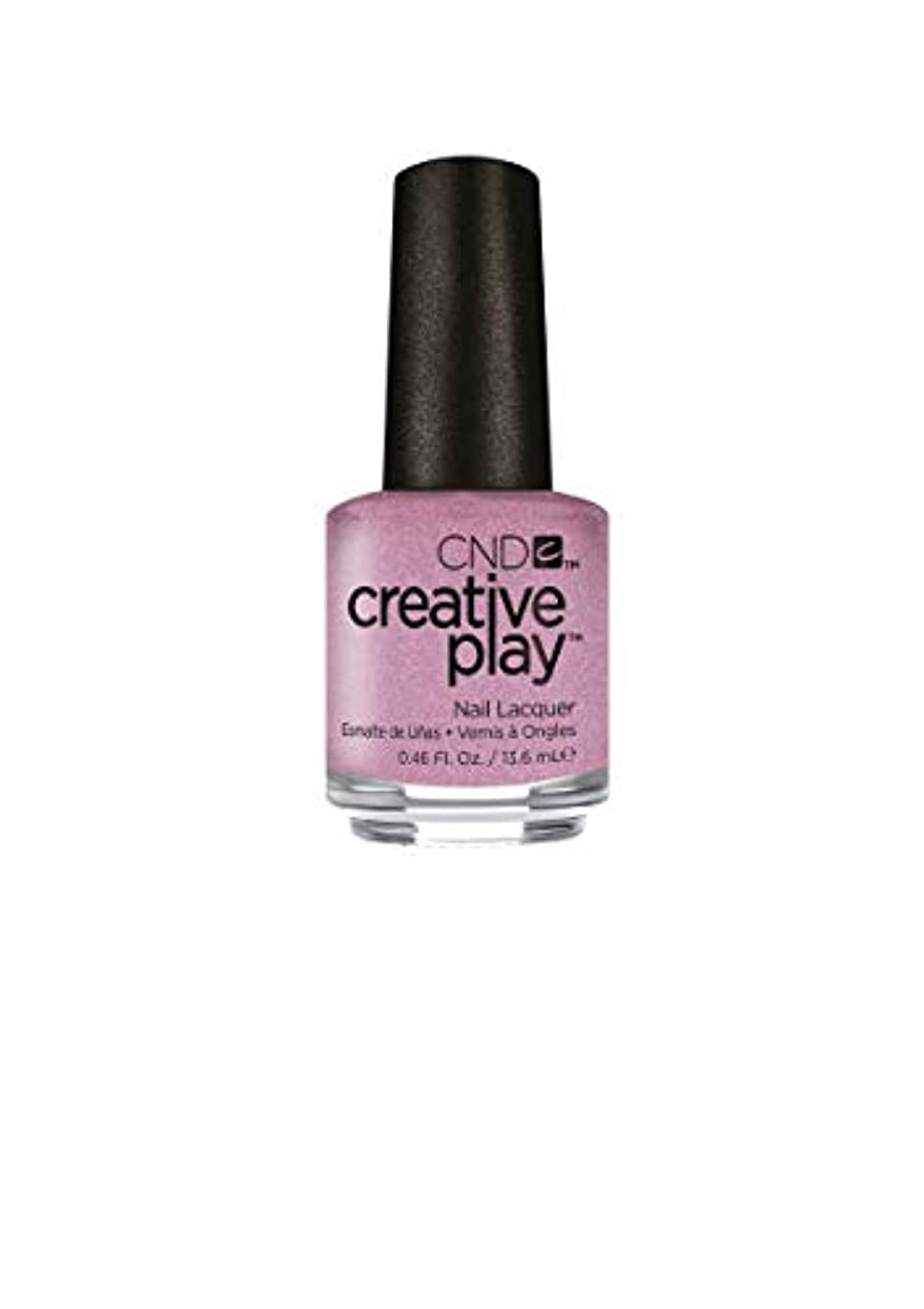 返済肯定的温室CND Creative Play Lacquer - I Like to Mauve It - 0.46oz / 13.6ml