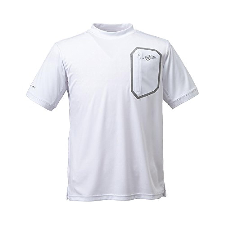 ハヤブサ(Hayabusa) HYOON モックネックシャツ ホワイト(10) Lサイズ Y1518-L-10