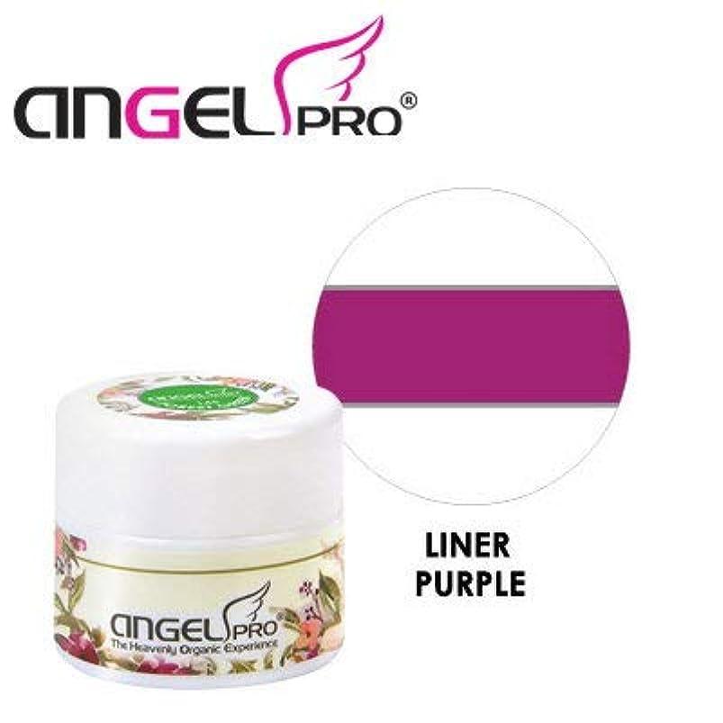アレルギー性欠陥真夜中ANGEL PRO ポットジェリー LINER PURPLE 4g