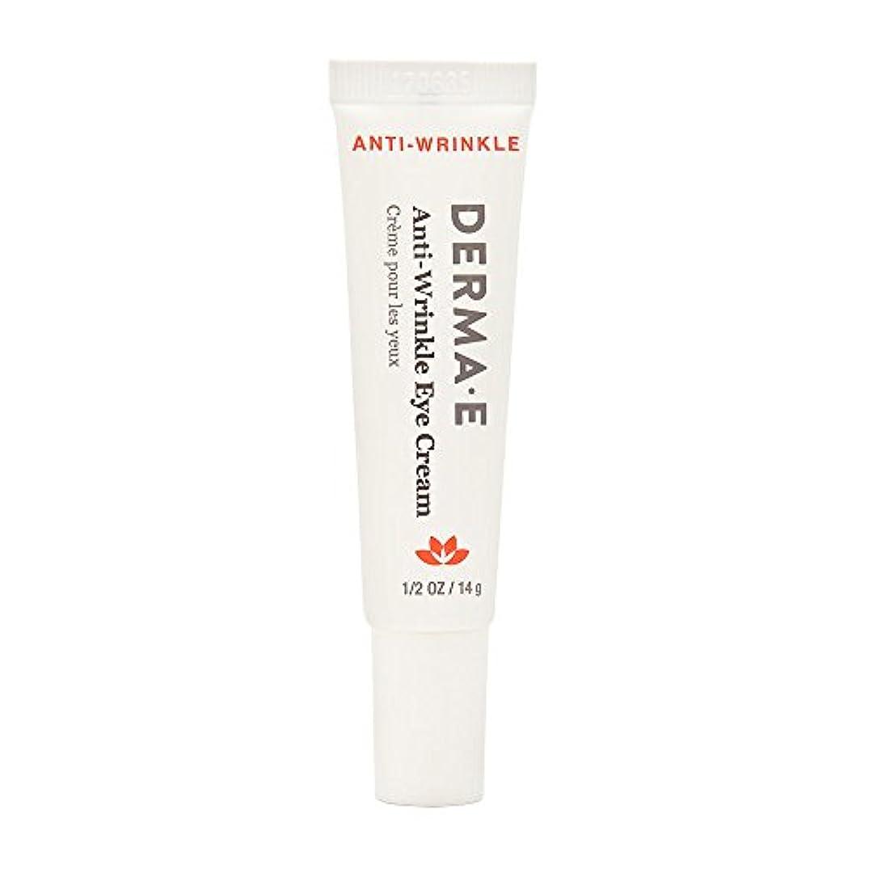 しっとり癒す彫刻Derma E Beauty - Anti-Wrinkle Eye Cream - 0.5oz / 14g