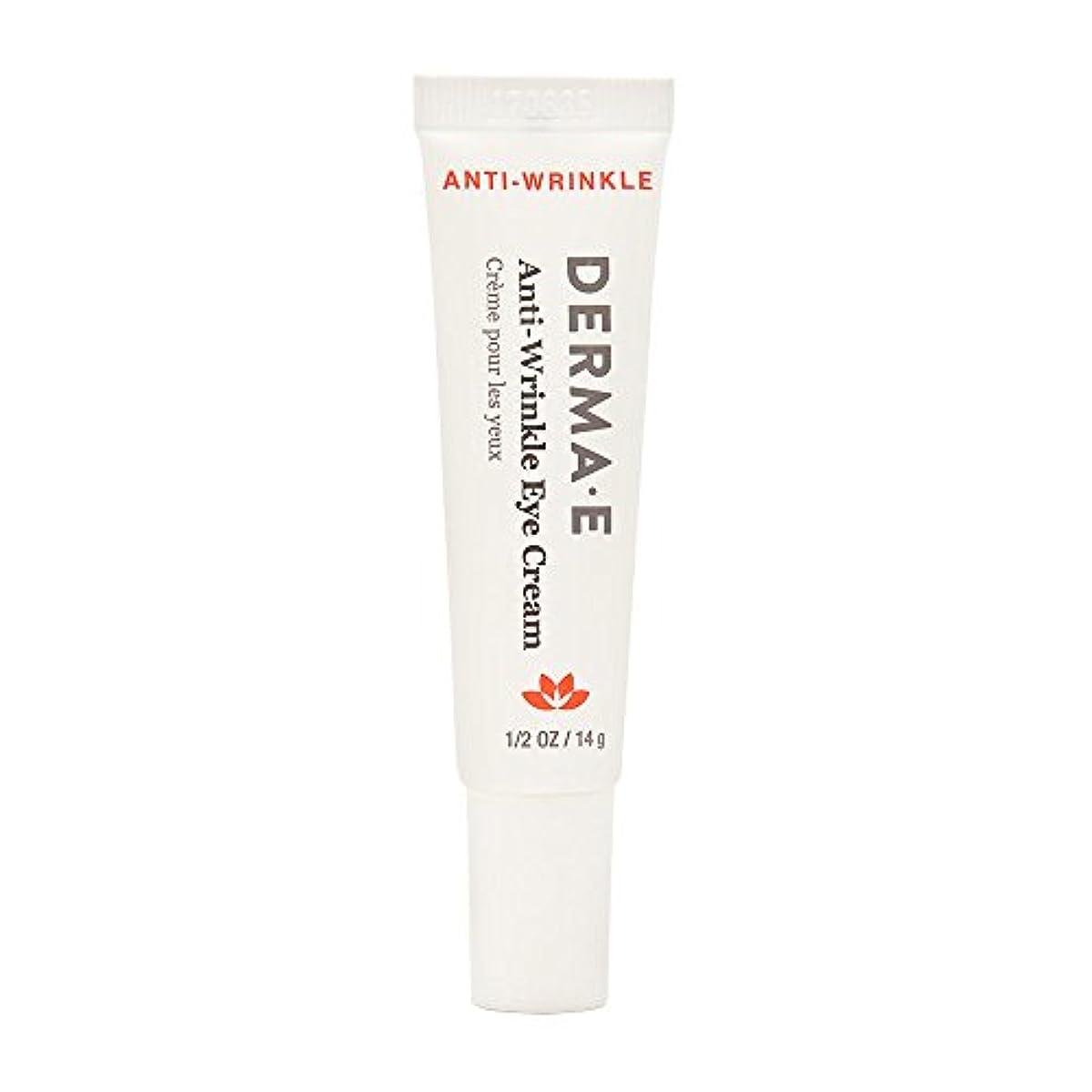 オーラルとげ危機Derma E Beauty - Anti-Wrinkle Eye Cream - 0.5oz / 14g