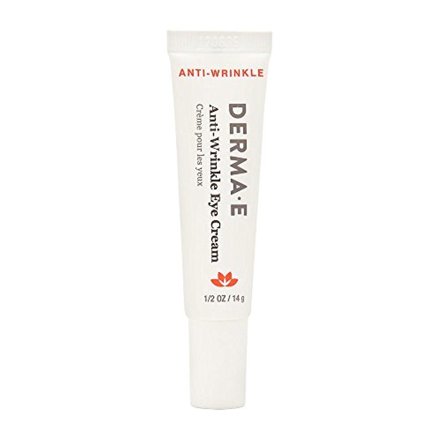 以来水アラブ人Derma E Beauty - Anti-Wrinkle Eye Cream - 0.5oz / 14g