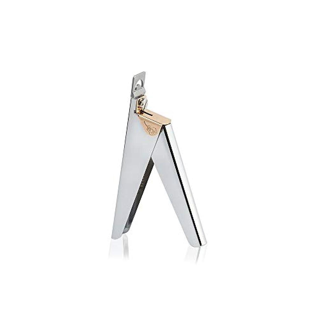 浸透する増幅のみU字型ネイルアートクリッパーはさみステンレス爪切り男女兼用 爪切り、シルバー