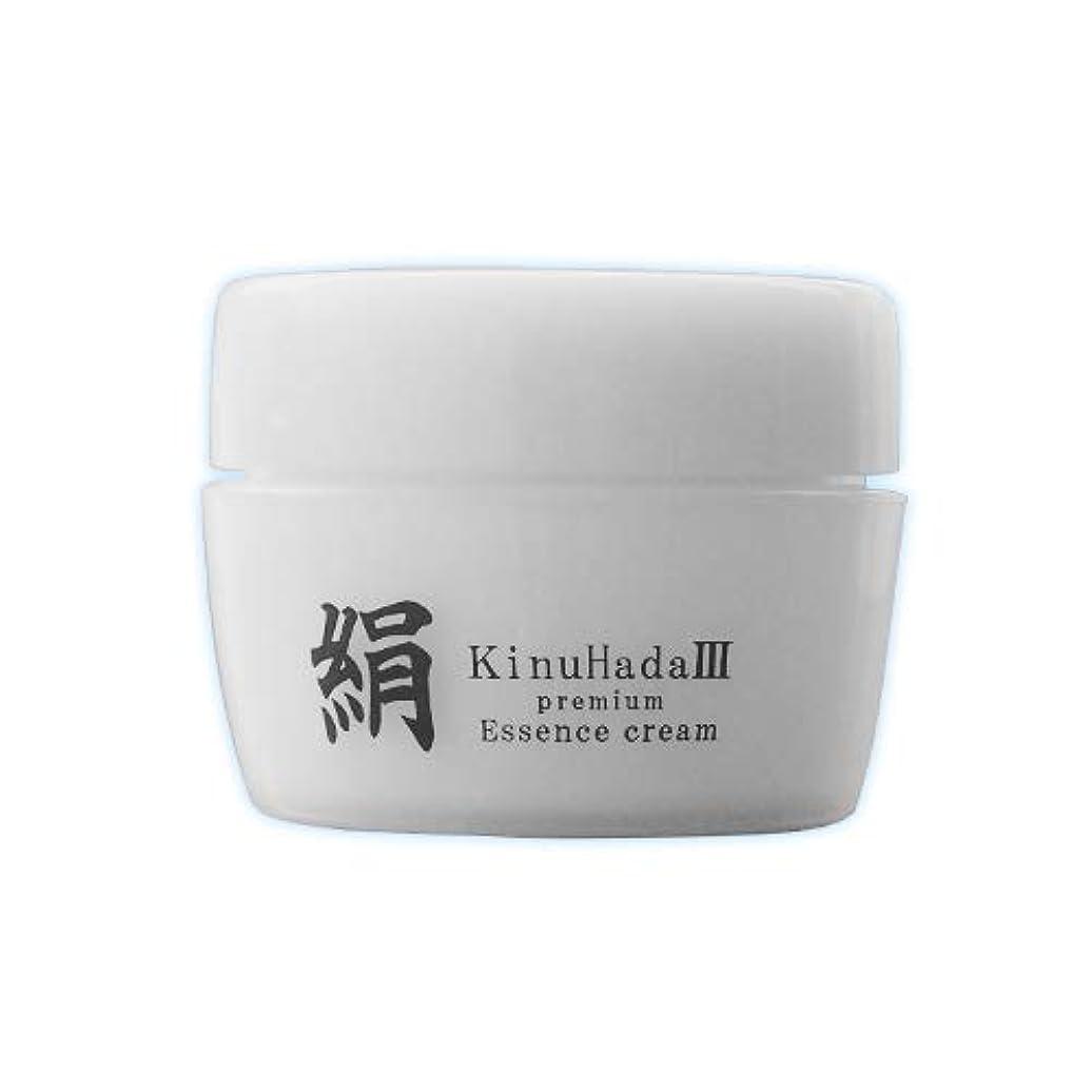 微視的ベジタリアン煙KinuHada 3 premium 60g オールインワン 美容液 絹