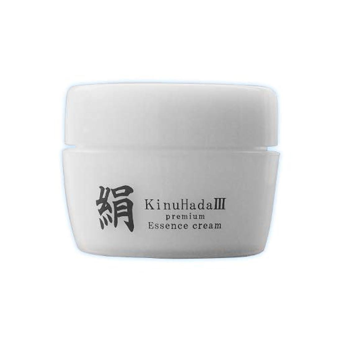 ポーク中断誇張するKinuHada 3 premium 60g オールインワン 美容液 絹