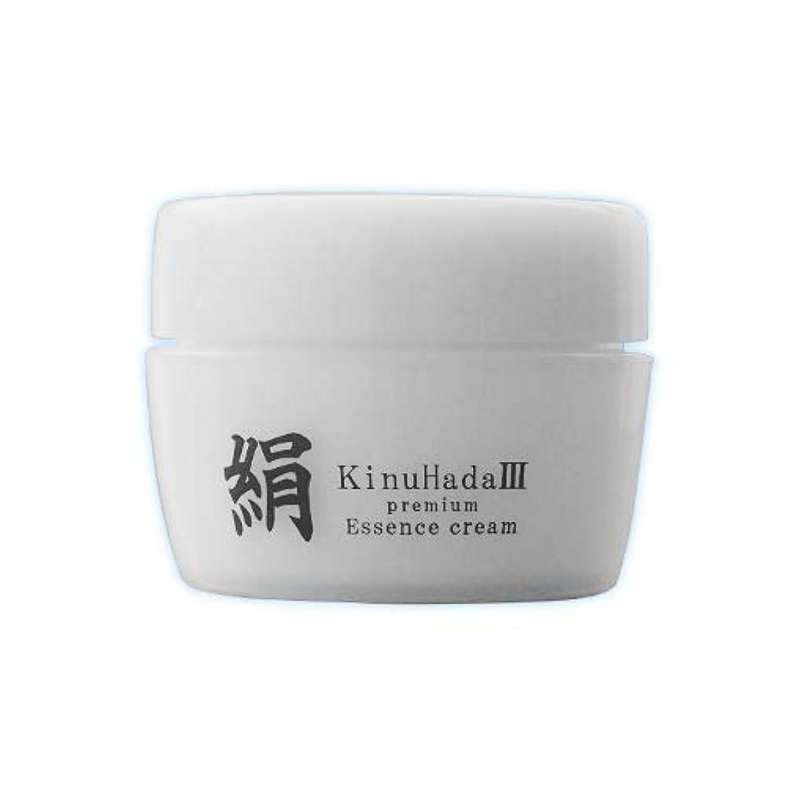 降ろす既婚人に関する限りKinuHada 3 premium 60g オールインワン 美容液 絹