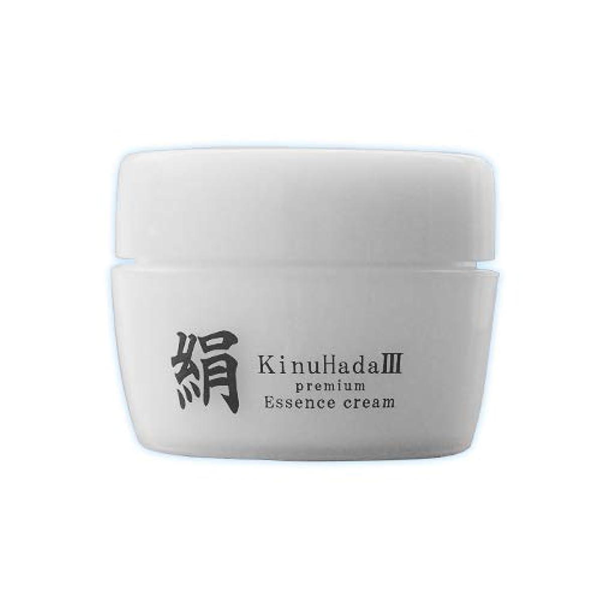 浸した負荷使用法KinuHada 3 premium 60g オールインワン 美容液 絹