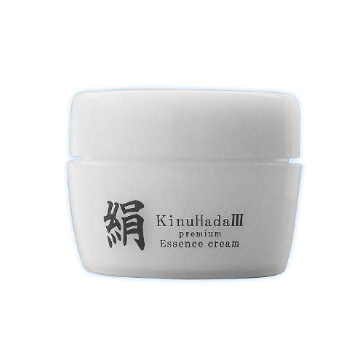 しつけ稚魚委任するKinuHada 3 premium 60g オールインワン 美容液 絹