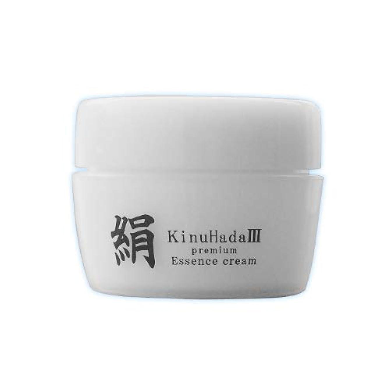ランドマーク動く申し立てられたKinuHada 3 premium 60g オールインワン 美容液 絹