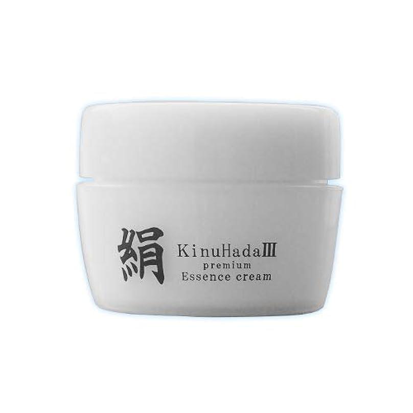 しなやかな自分を引き上げる境界KinuHada 3 premium 60g オールインワン 美容液 絹