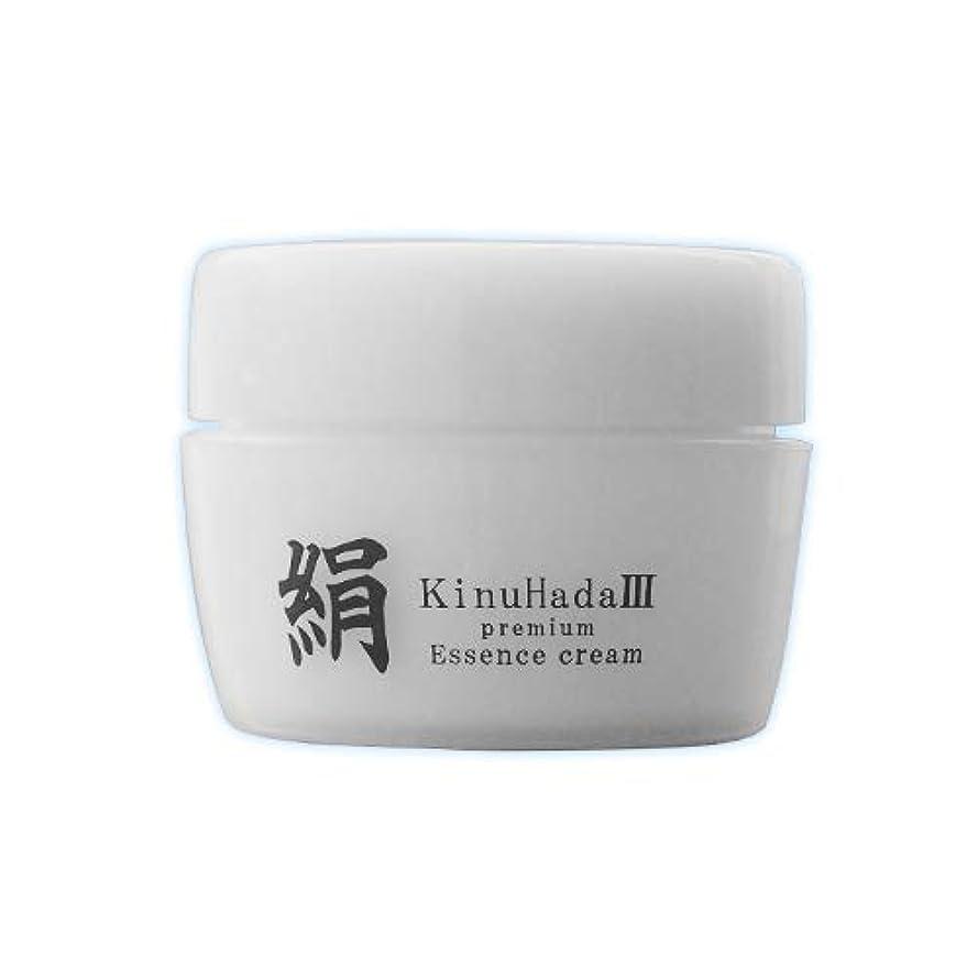 ハードリング倫理憎しみKinuHada 3 premium 60g オールインワン 美容液 絹