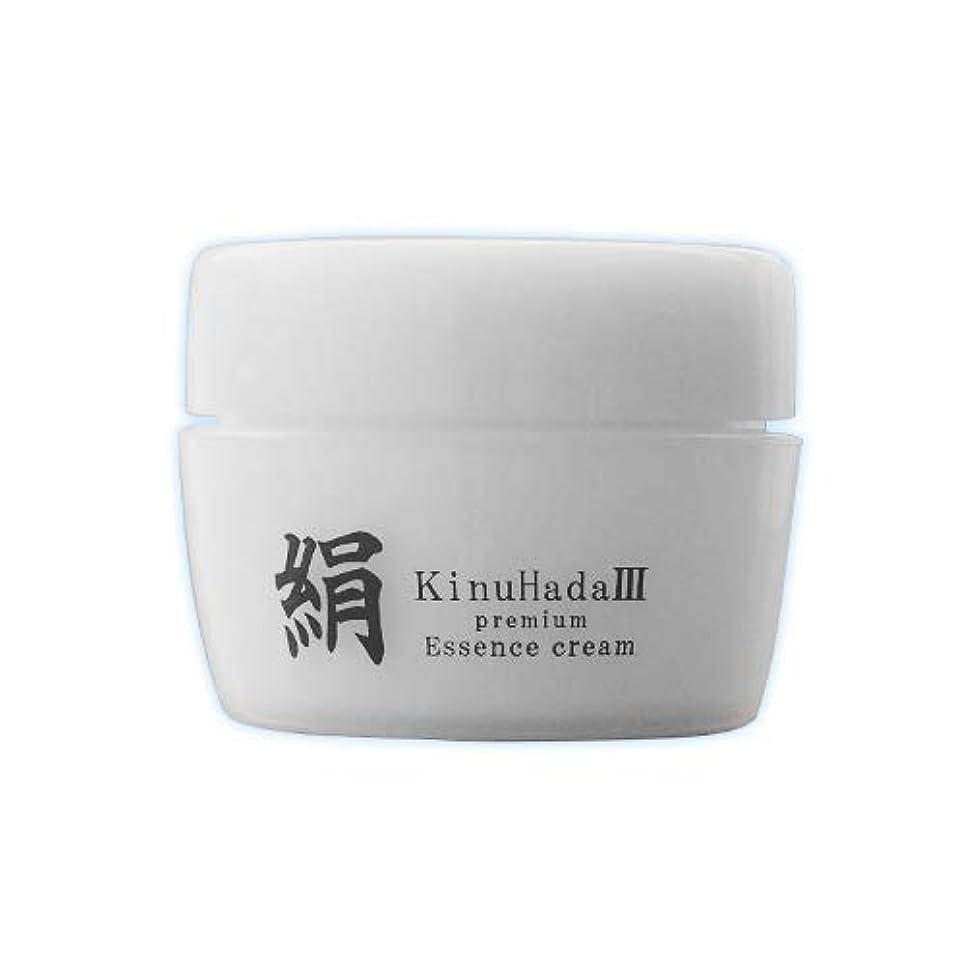 競争放棄されたプレゼンテーションKinuHada 3 premium 60g オールインワン 美容液 絹