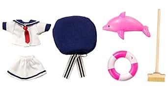 キューポッシュえくすとら 【おしごともーど】 水兵さんせっと~シェルピンク~ ノンスケール フィギュア用アクセサリー