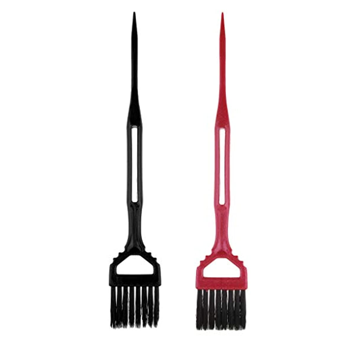 辞任当社推進力Toygogo 2サロン理髪髪染め櫛分布ブラシツールのセット髪型染め染め櫛ツール