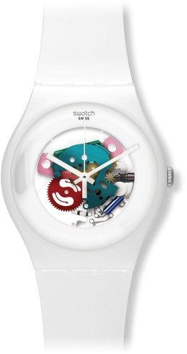 [スウォッチ]SWATCH 腕時計 NEW GENT(ニュージェント) WHITE LACQUERED(ホワイト・ラッカード) SUOW100 【正規輸入品】