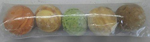 パンボール(セット)(5味×10袋)×10P 業務用 冷凍 (トマト・レーズン・かぼちゃ・ほうれん草・コーヒー味のパン)
