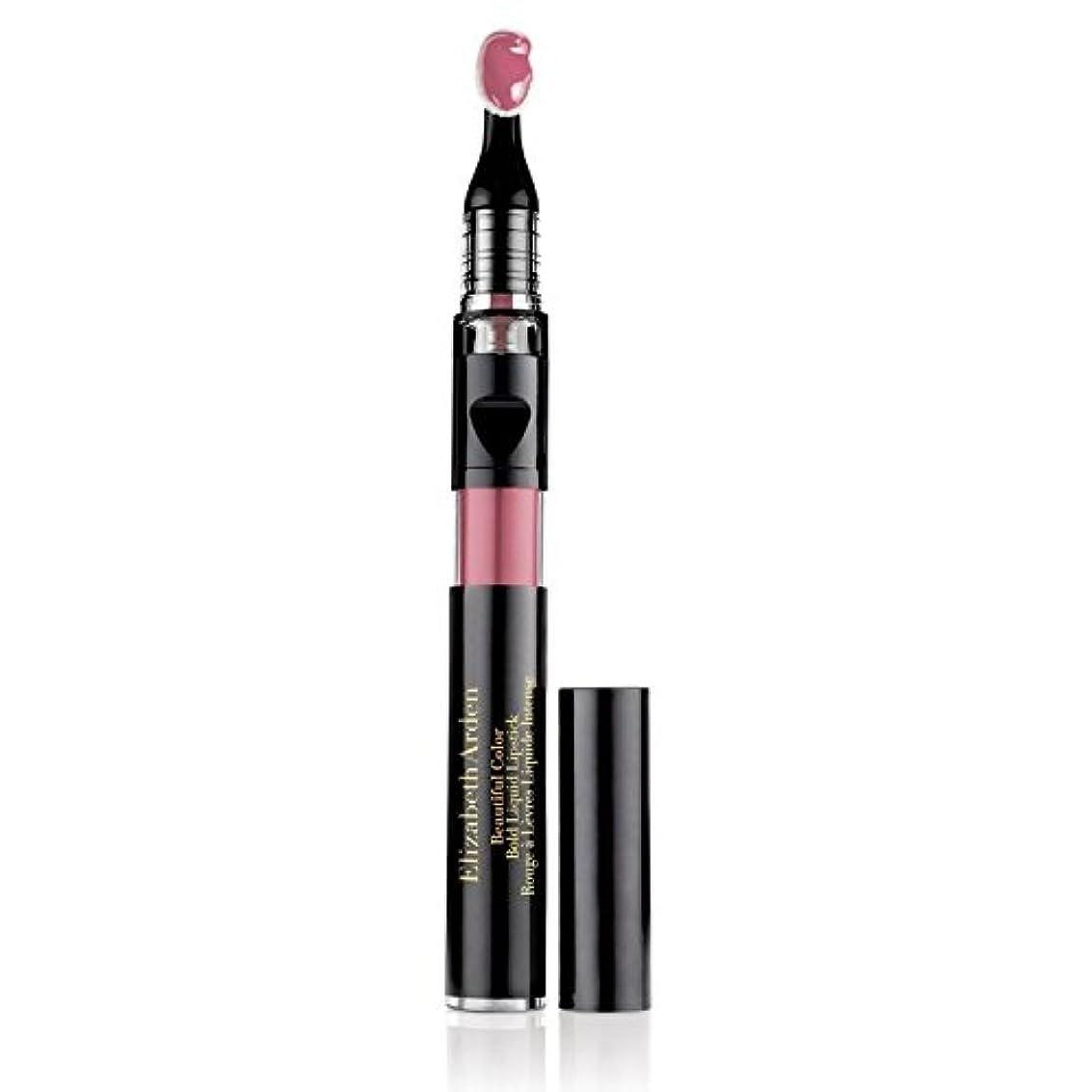 眩惑する検査コンサルタントエリザベスアーデン Beautiful Color Bold Liquid Lipstick - # 02 Daring Beige 2.4ml/0.08oz並行輸入品