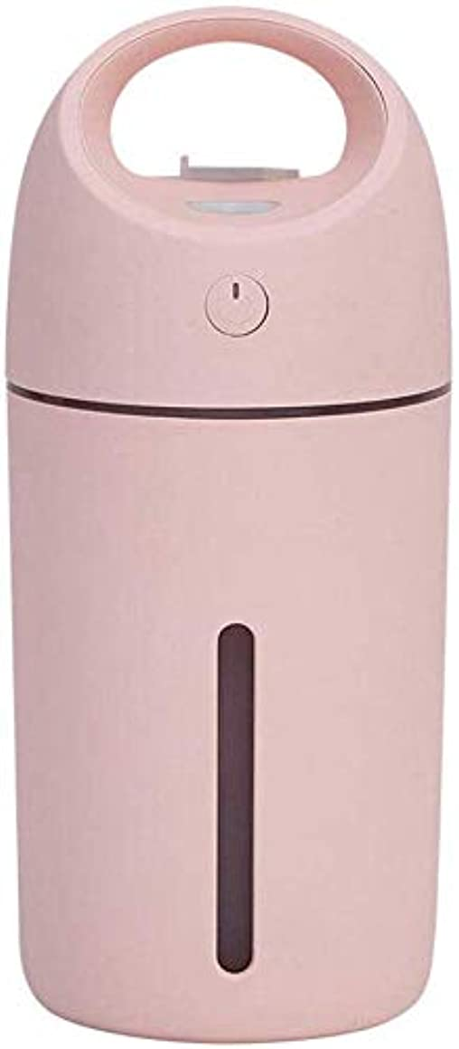 合成二次疼痛SOTCE アロマディフューザー加湿器超音波霧化技術満足のいく解決策連続霧モード湿潤環境品質の製品 (Color : Pink)