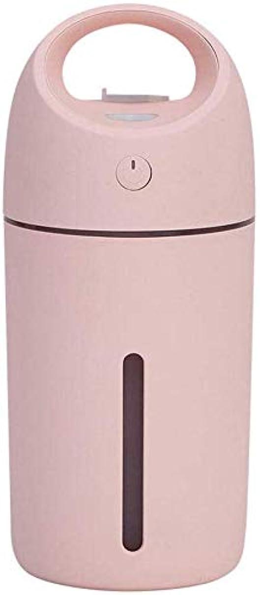 思い出させるシンポジウム切り離すSOTCE アロマディフューザー加湿器超音波霧化技術満足のいく解決策連続霧モード湿潤環境品質の製品 (Color : Pink)